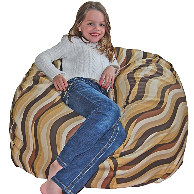 Shop Ahh Products Bubbly Lake Cotton Washable Bean Bag