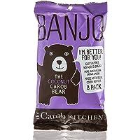 The Carob Kitchen Banjo Carob Bear Coconut 8 Bars, Gluten Free, No Added Sugar, Natural, Certified Organic, Non GMO, 8…