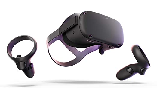Amazon.com: Oculus Quest All-in-one VR Gaming Headset – 128GB: Video Games