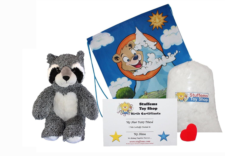 Stuffems Toy Shop Haga su Propio Animal Relleno del Bandido del ...