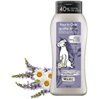 Wahl Canada Four in One Dog Shampoo & Conditioner, Plant Derived Shampoo in Lavender Chamomile, to Clean, Condition…