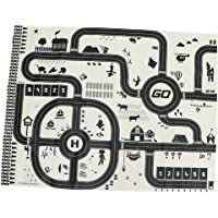 Flameer Kids Rug/Play Mat with City Traffic Roads Map for Cars & Train Game Toy - Children Play Carpet Boy Girl Nursery…