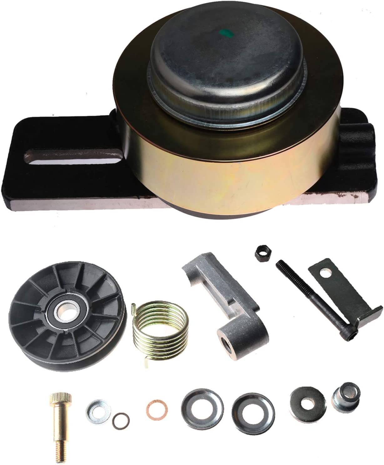 Friday Part Drive Belt Tensioner 6735884 & Cooling Fan Pulley Kits 6662997 for Bobcat 653 751 753 763 773 7753 S130 S150 S160 S175 S185 S205 T140 T180 T190