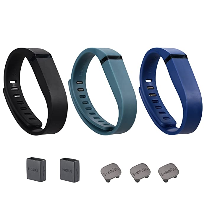Fitbit Flex Replacement Bands with Metal Clasps