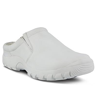 cd95ed42612b Spring Step Women s Blaine Men s Clogs White