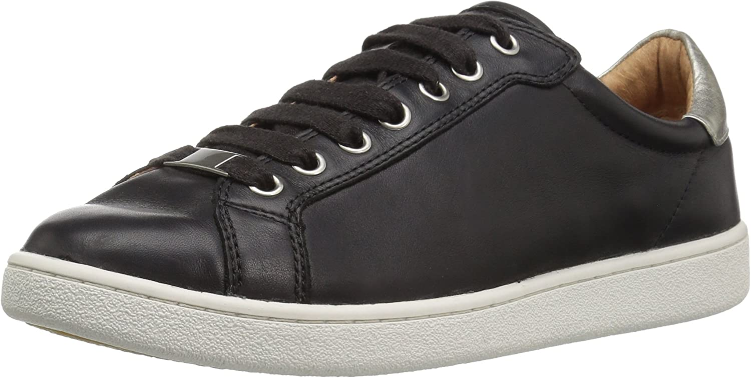 Milo Leather Lace Up Trainer White