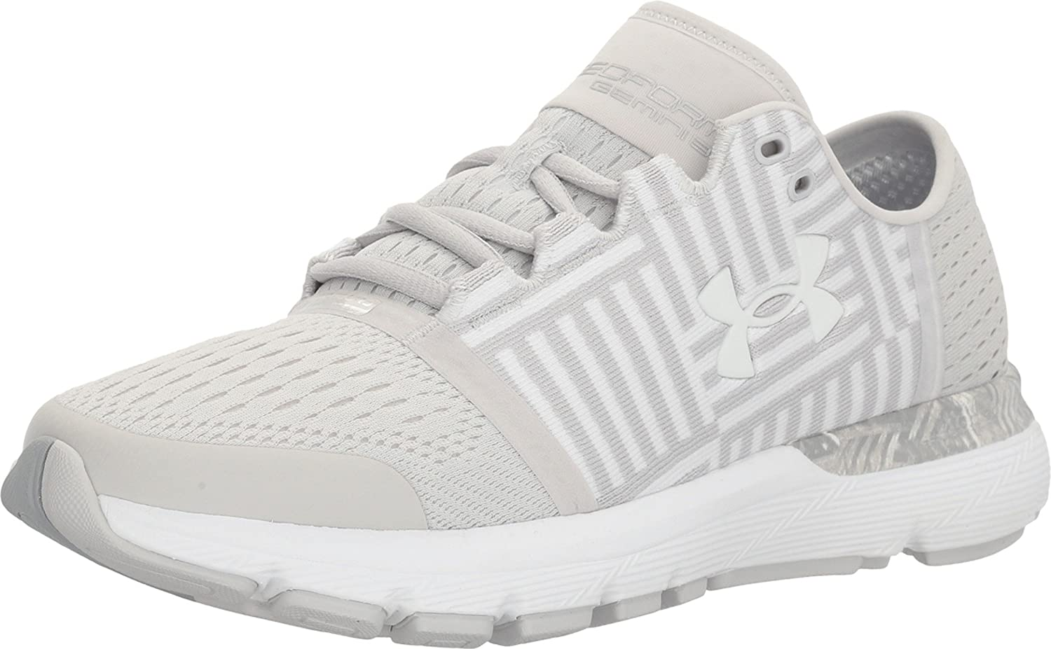 Under Armour Women's Speedform Gemini 3 B(M) Running Shoe B01GSSIKP4 9.5 B(M) 3 US|White/Glacier Gray/White 31864f