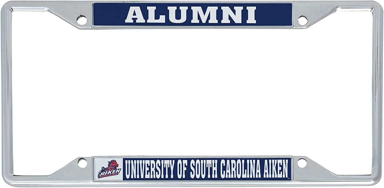 Alumni Desert Cactus University of South Carolina Aiken NCAA Metal License Plate Frame for Front or Back of Car Officially Licensed