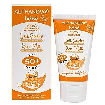 Crema solar bebes amazon
