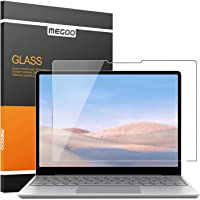 """MEGOO Glass Screen Protector for Surface Laptop Go 12.4"""", Scratch Resistant/Easy Installation/ 9H Hardness/Ultra Clear…"""