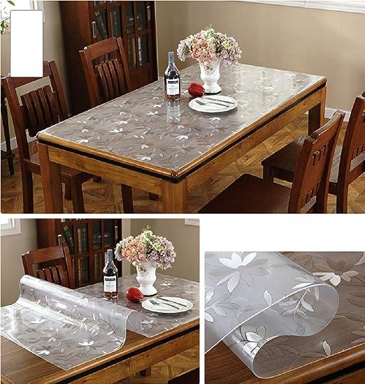 Mantel de PVC, Protector de Mesa para Comedor, 1.5 mm de Grosor ...