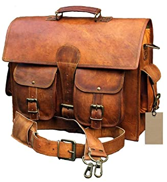 928439e13da1 Amazon.com: Znt Bags Leather Messenger Bags for Men 16 Women Mens ...