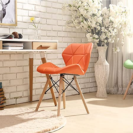 Creative PU Leather Upholstered Lounge Chairs Simple Conference Delectable Upholstered Chairs Dining Room Creative
