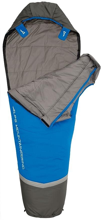 ALPS Mountaineering Alpes alpinismo Aura + 35 grados momia saco de dormir: Amazon.es: Deportes y aire libre