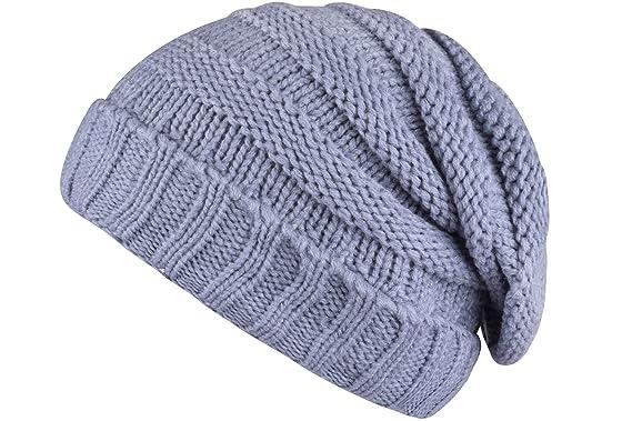 Grey Knit Beanie Beanie Light Grey Winter Cycling Hat Mens Skull Cap Light  Grey c8d5067a1567
