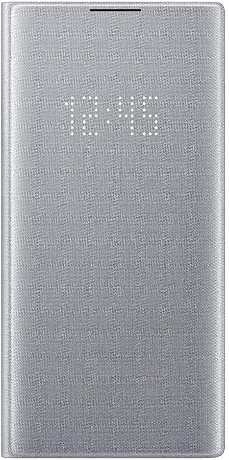 Samsung LED View Cover (EF-NN975) para Galaxy Note10+ 5 g, Plata