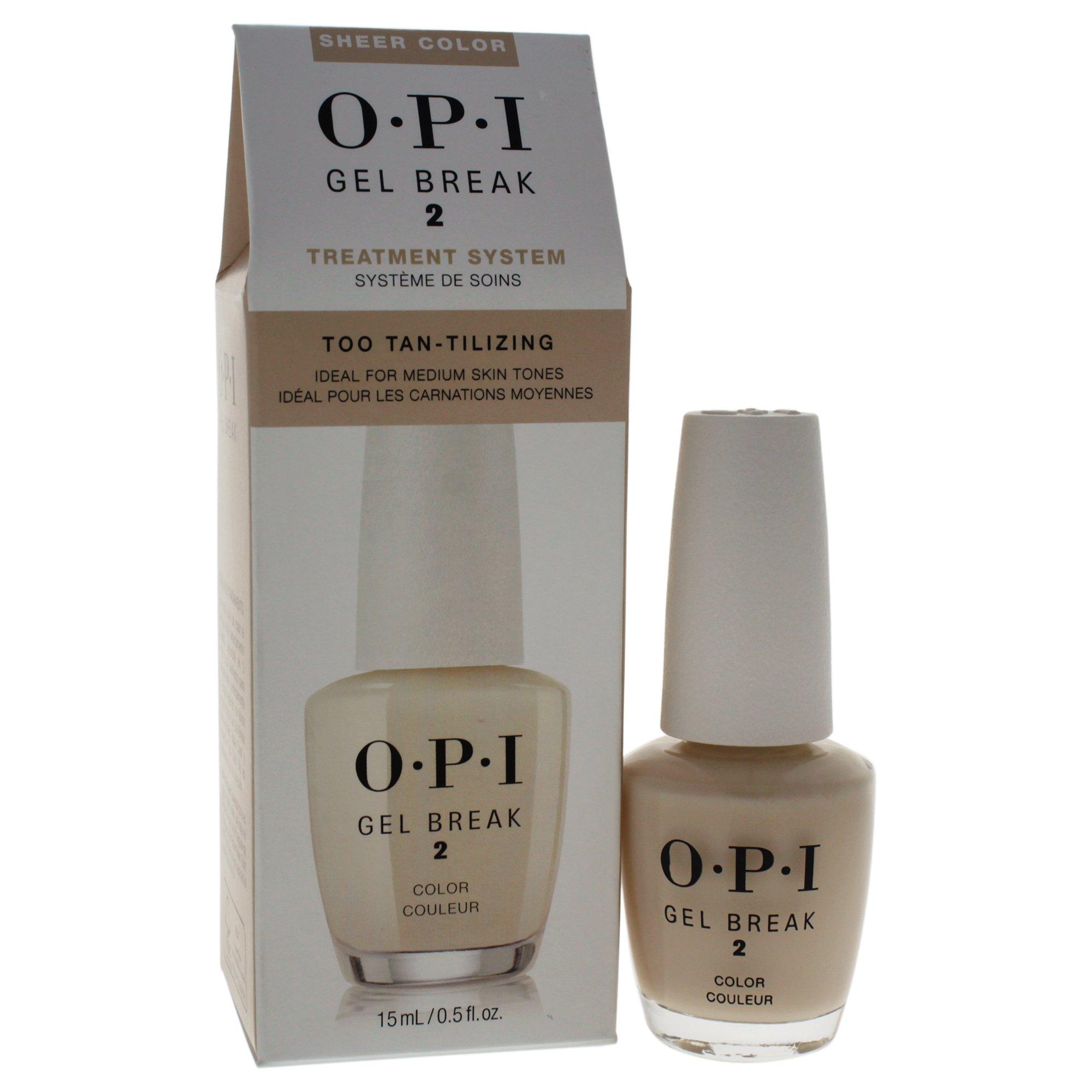 Amazon.com: OPI Gel Break Treatment, Properly Pink, 0.5 fl