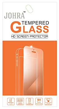 Johra Tempered Glass Screen Scratch Protector for Micromax Canvas 2 Colors A120 Mobile Accessories