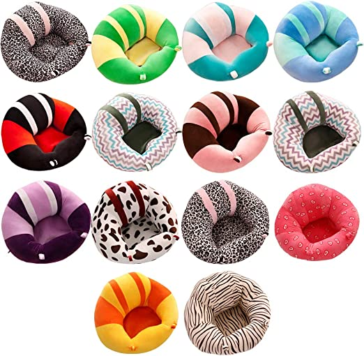 Forart Baby Sofa Learn Sitting Chair Nursery Support Seat Pillow Protector Plush Cushion Infant Sitting Chair Baby Support Seat