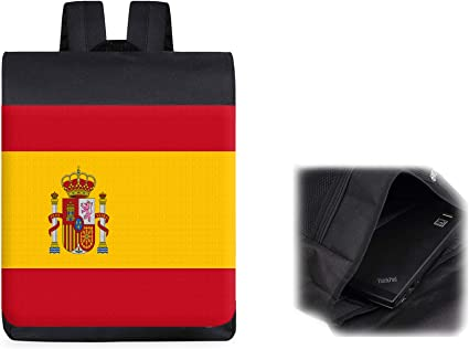 MOCHILA BANDERA ESPAÑA PAIS UNIDO backpack rucksak: Amazon.es ...