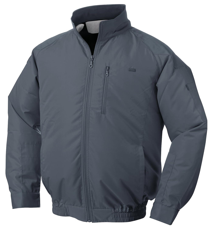 NSP 空調服 服単体 チタンコーティング 立ち襟 肩袖補強あり チャコールグレー 4L 8208407 B01D4BWYMI 4L|服単体