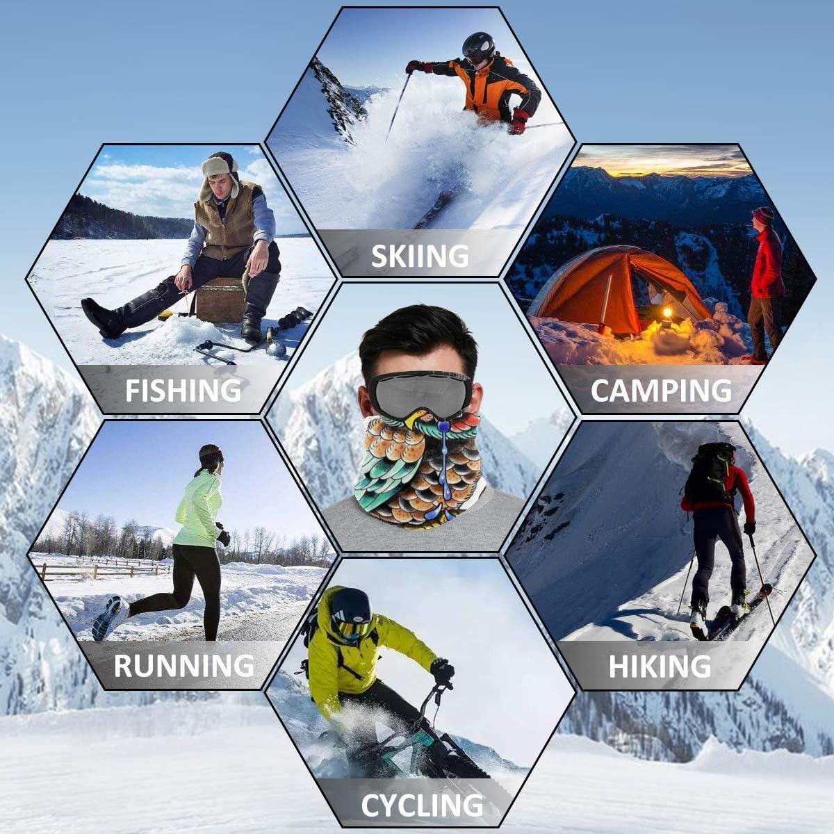 Neck Gaiter Soft Lightweight Outdoors Winter Neck Warmer for Women /& Men