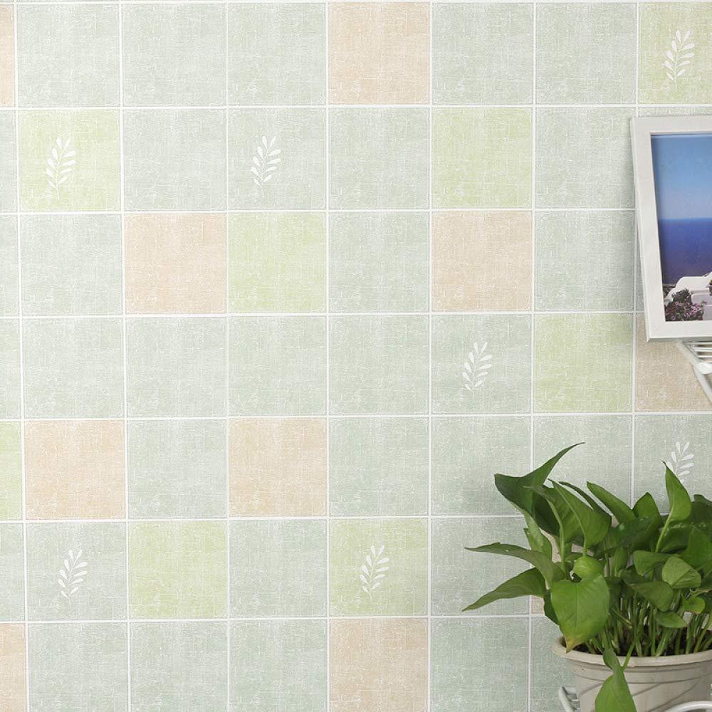 lsaiyy Papel Pintado nórdico Simple Papel Pintado Autoadhesivo Dormitorio Impermeable Papel Tapiz - 60CMX5M: Amazon.es: Hogar