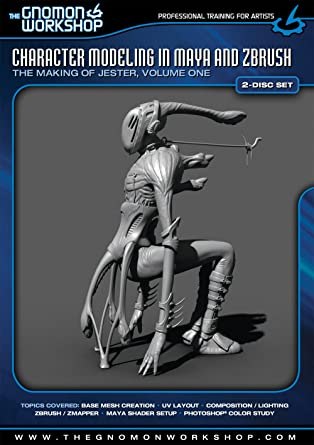 Amazon com: Character Modeling in Maya and Zbrush  The