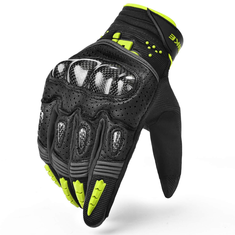 INBIKE Motorcycle Gloves Full Finger Durable for Road Racing Bike/Motorbike / Riding Outdoor Gloves Men Women