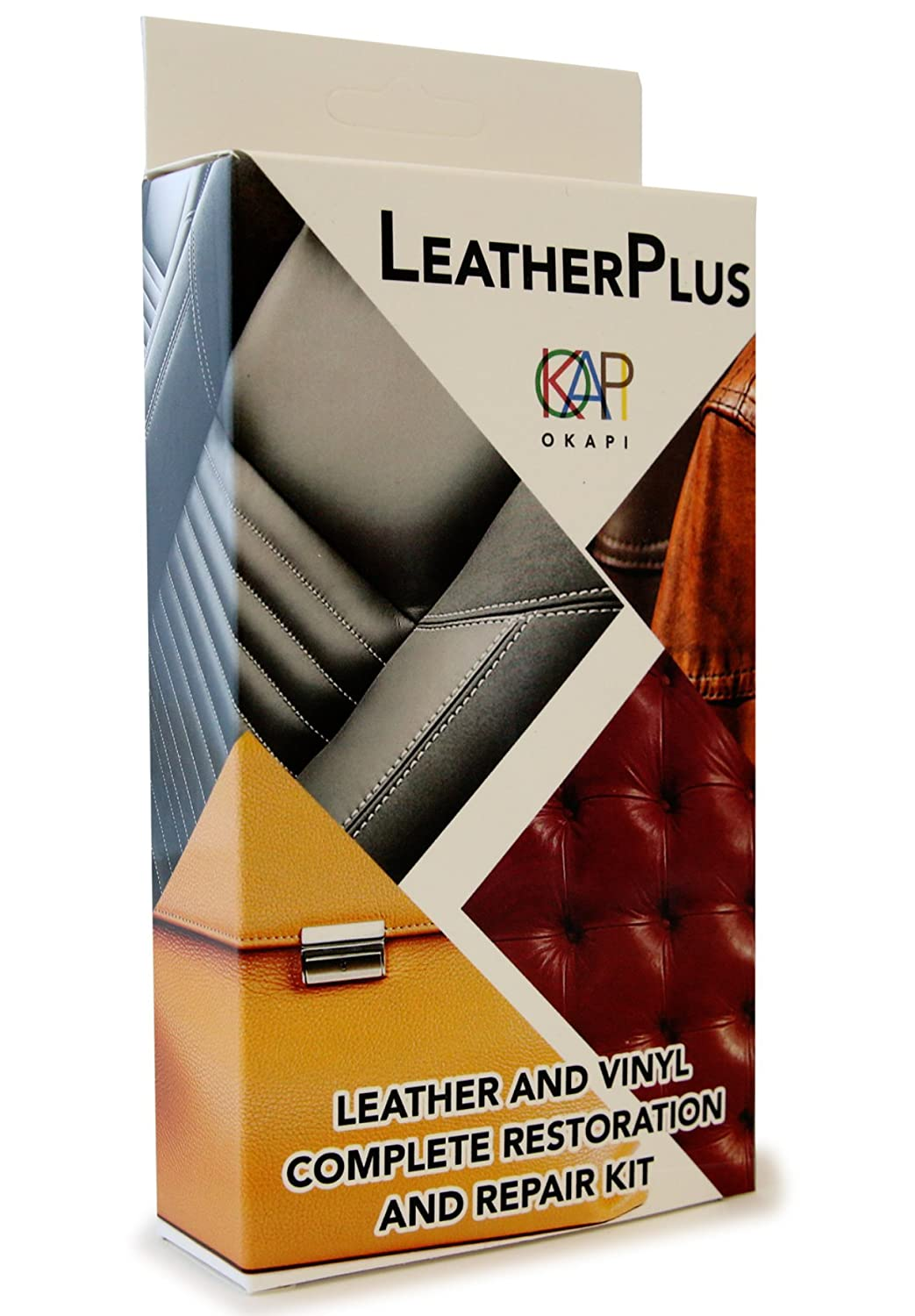 Leatherplus Leather And Vinyl Repair Restoration Kit For