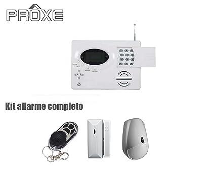 proxe 502000 Kit de Alarma sin Hilos vigila 1 PSTN: Amazon ...