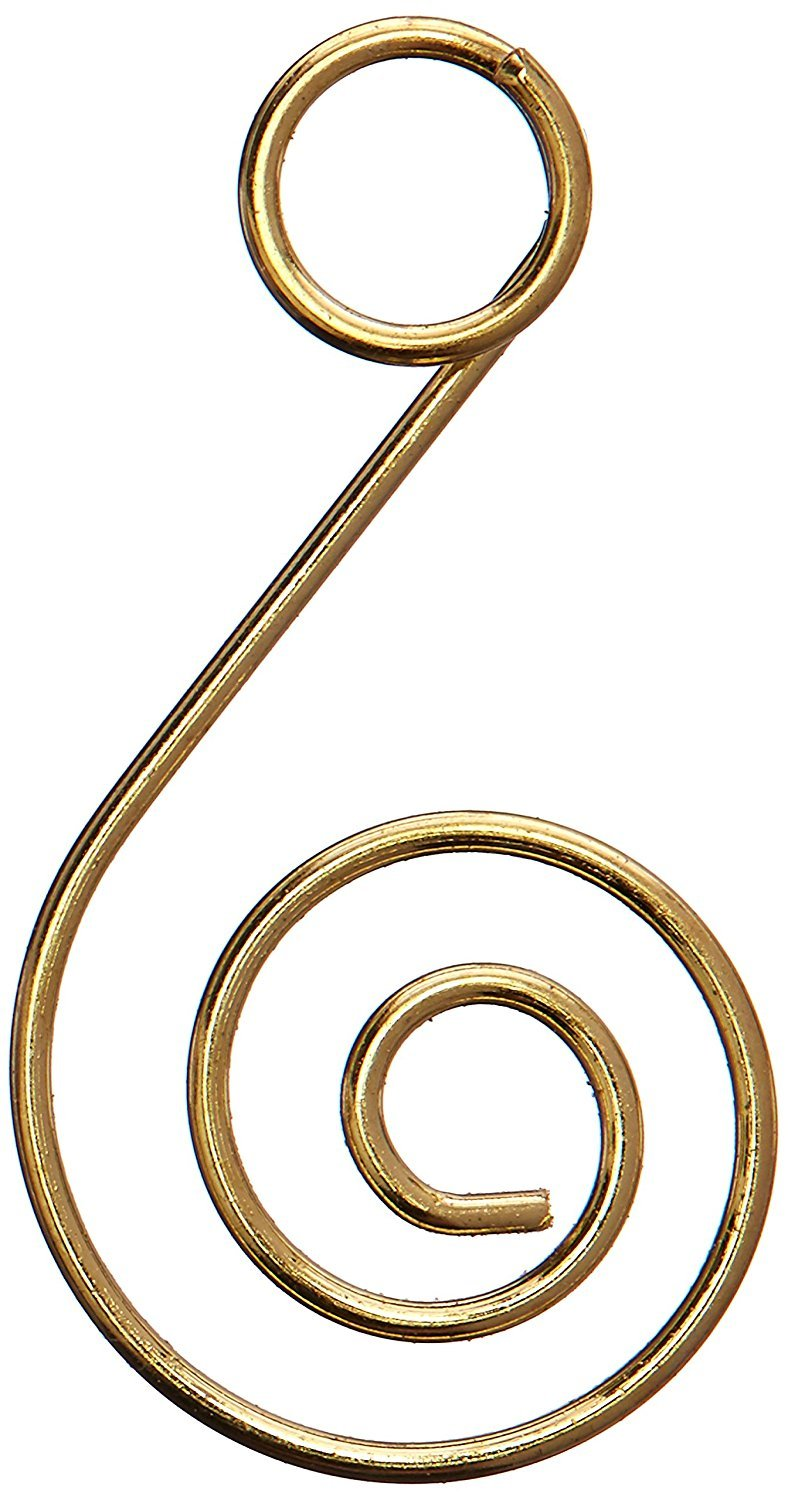 Kurt Adler Gold Ornament Hooks 60 Pieces