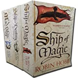Robin Hobb - The LiveShip Traders Trilogy - 3 Books Collection Set (Ship of Magic, The Mad Ship, Ship of Destiny)