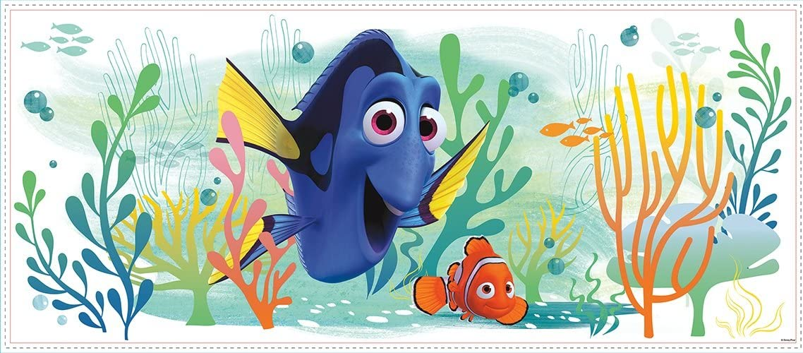 RoomMates Finding Dory and Nemo Peel And Stick Giant Wall Graphic