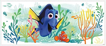 RoomMates U0026quot;Nemo U0026 Dory Finding Doryu0026quot; Wall Stickers, ...