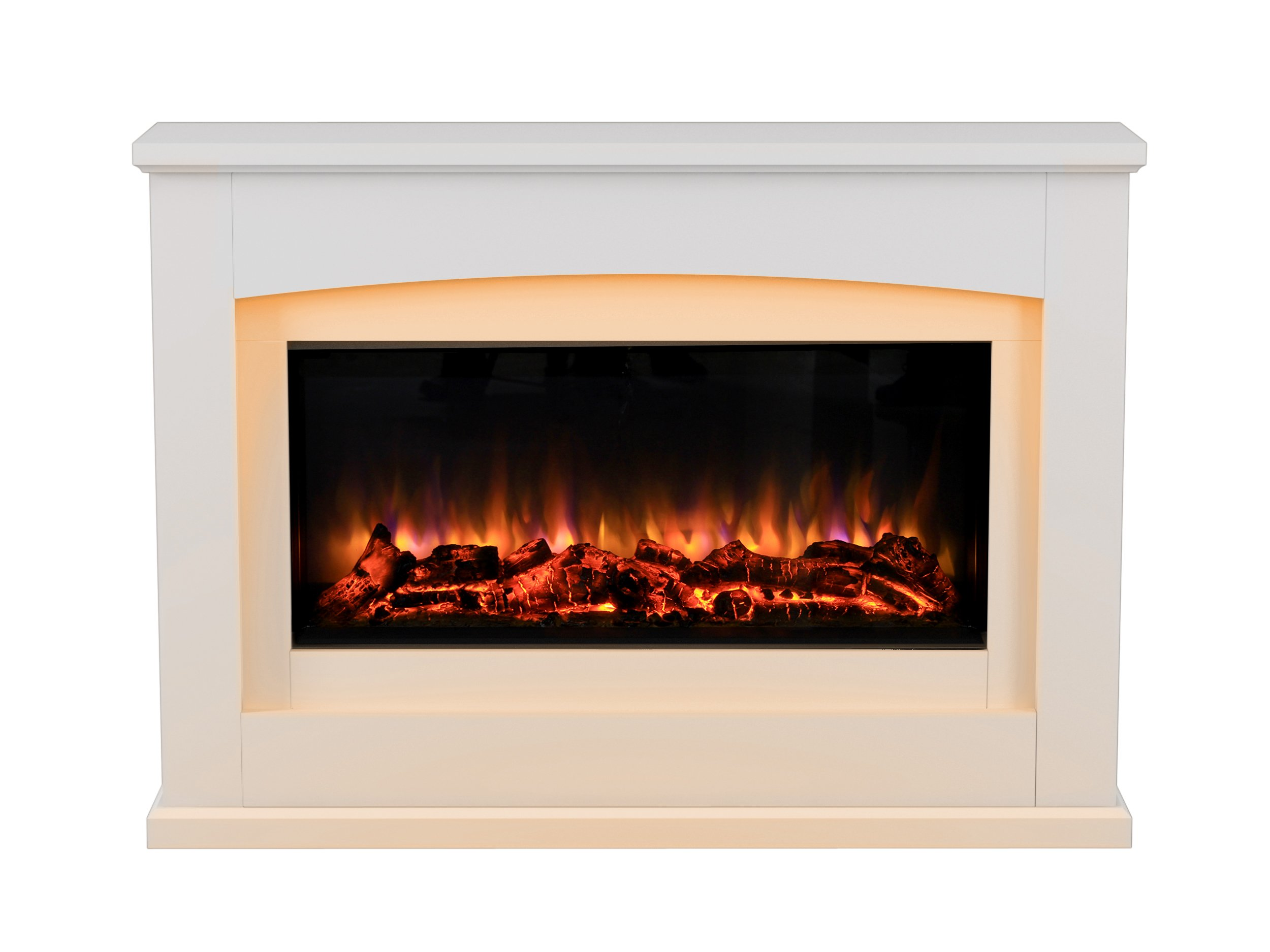 Chimenea eléctrica Danby Suite de vidrio frente a fuego eléctrico 220/240 VCA, 7