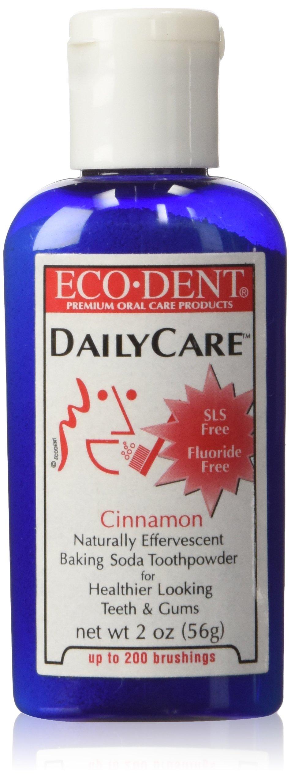 Eco-Dent Baking Soda Toothpowder...Cinnamon, 2oz