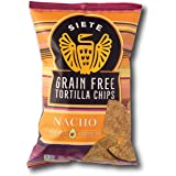 Siete Grain Free Tortilla Chips, Nacho, 5 oz