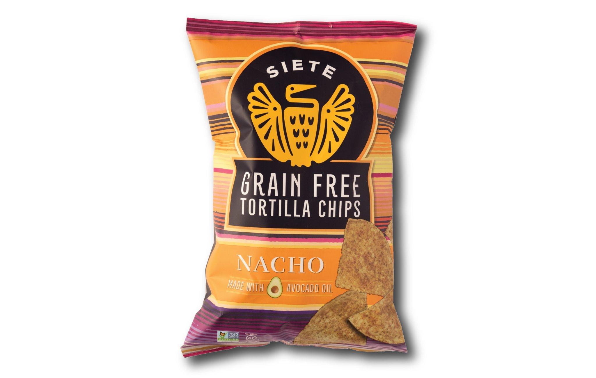 Amazon.com: Siete, Sea Salt Tortilla Chips, 5 oz
