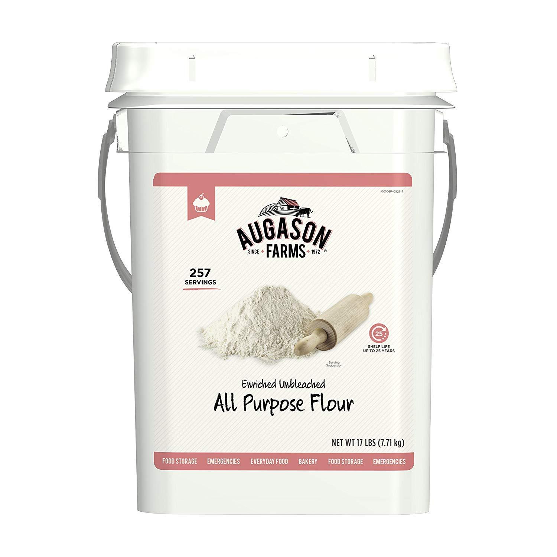 Augason Farms Enriched Unbleached All Purpose Flour