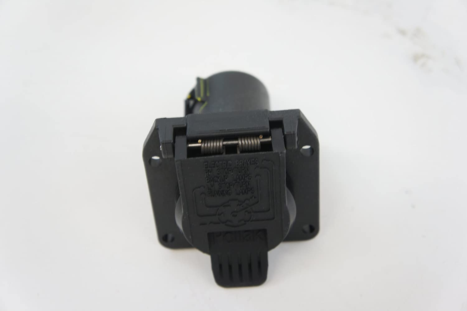 Genuine Audi Accessories 4l0055305u 7 Pin Towing Q7 Trailer Hitch Wiring Adapter Connector Automotive