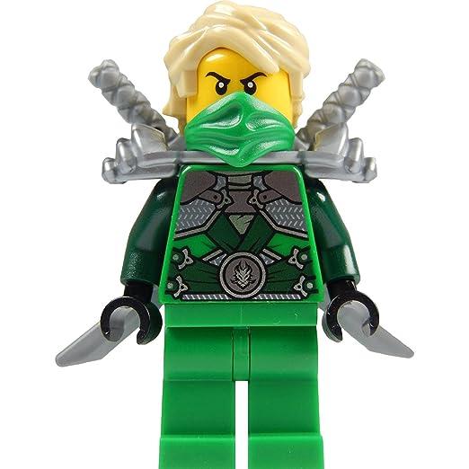 Amazon.com: LEGO Ninjago: Lloyd Garmadon (verde Ninja ...