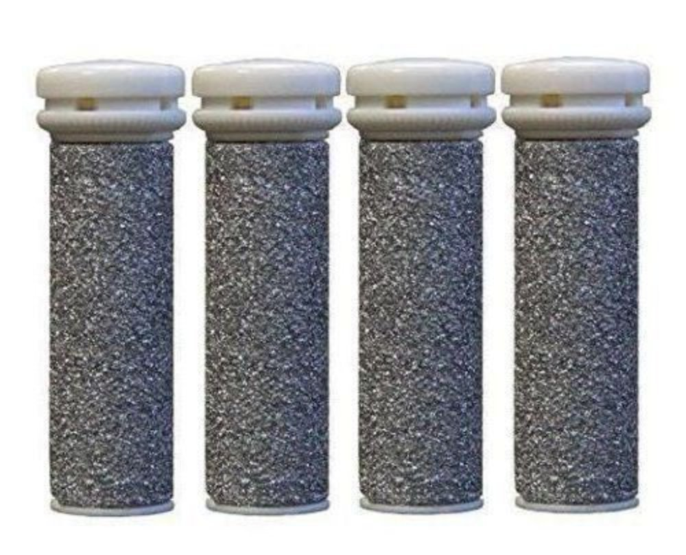 CSL 4 x Extreme Coarse Replacement Rollers Compatible With Emjoi Micro Pedi CSL Central Supplies Ltd