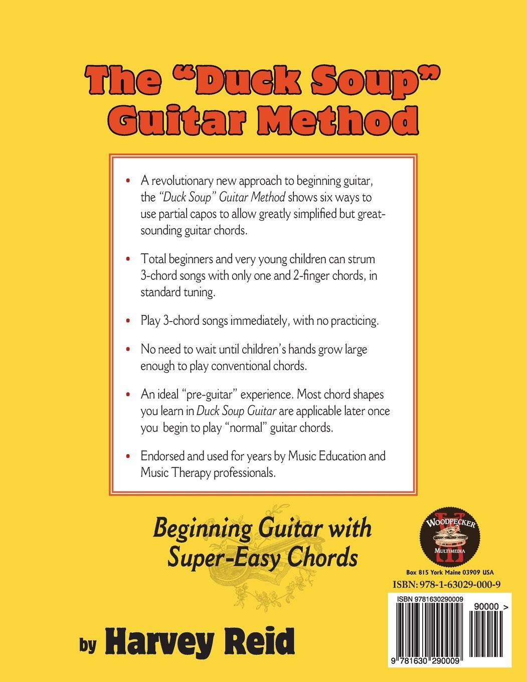 The Duck Soup Guitar Method Beginning Guitar With Super Easy Chords