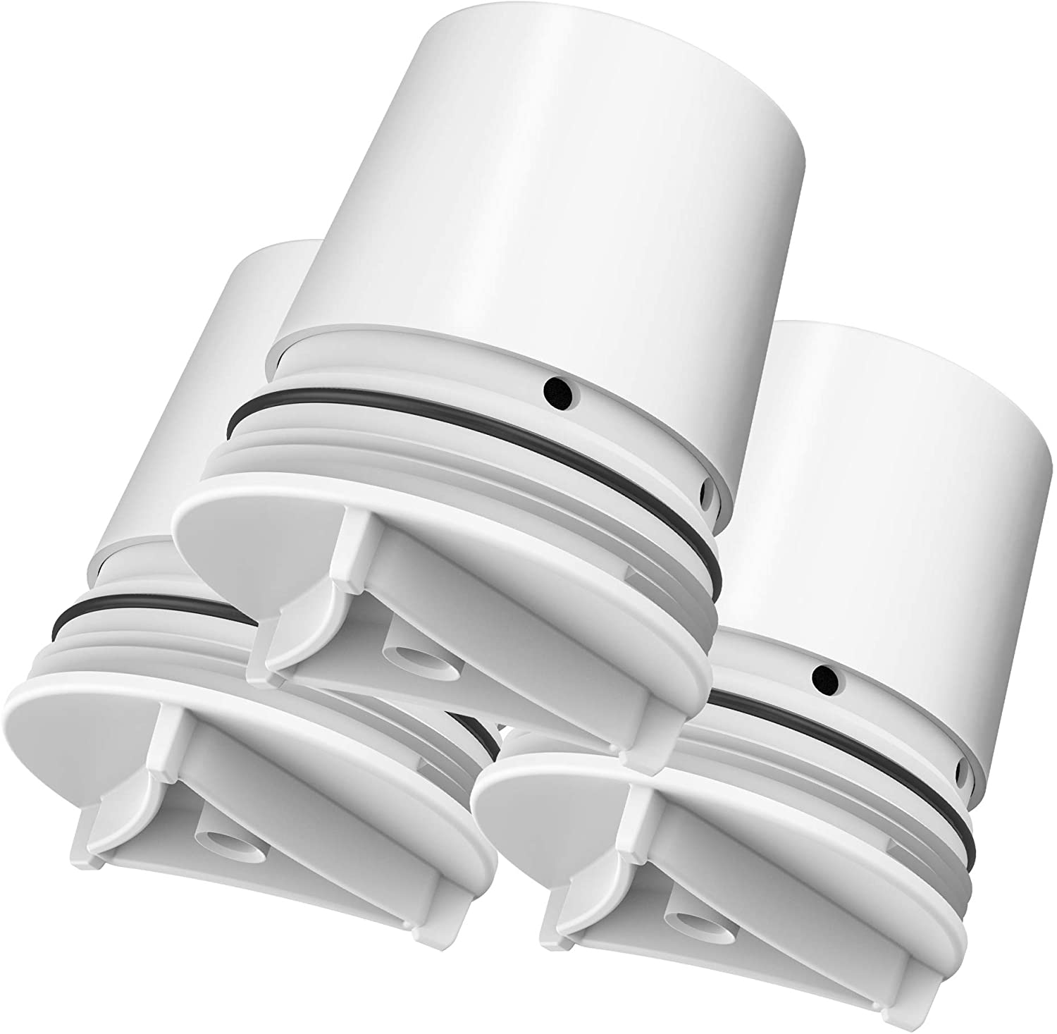 Pack of 3 AQUA CREST White Finish Compatible with Culligan FM-15RA Water Filter AQUACREST Replacement FM-15RA Faucet Water Filter Culligan FM-15A Filtration System
