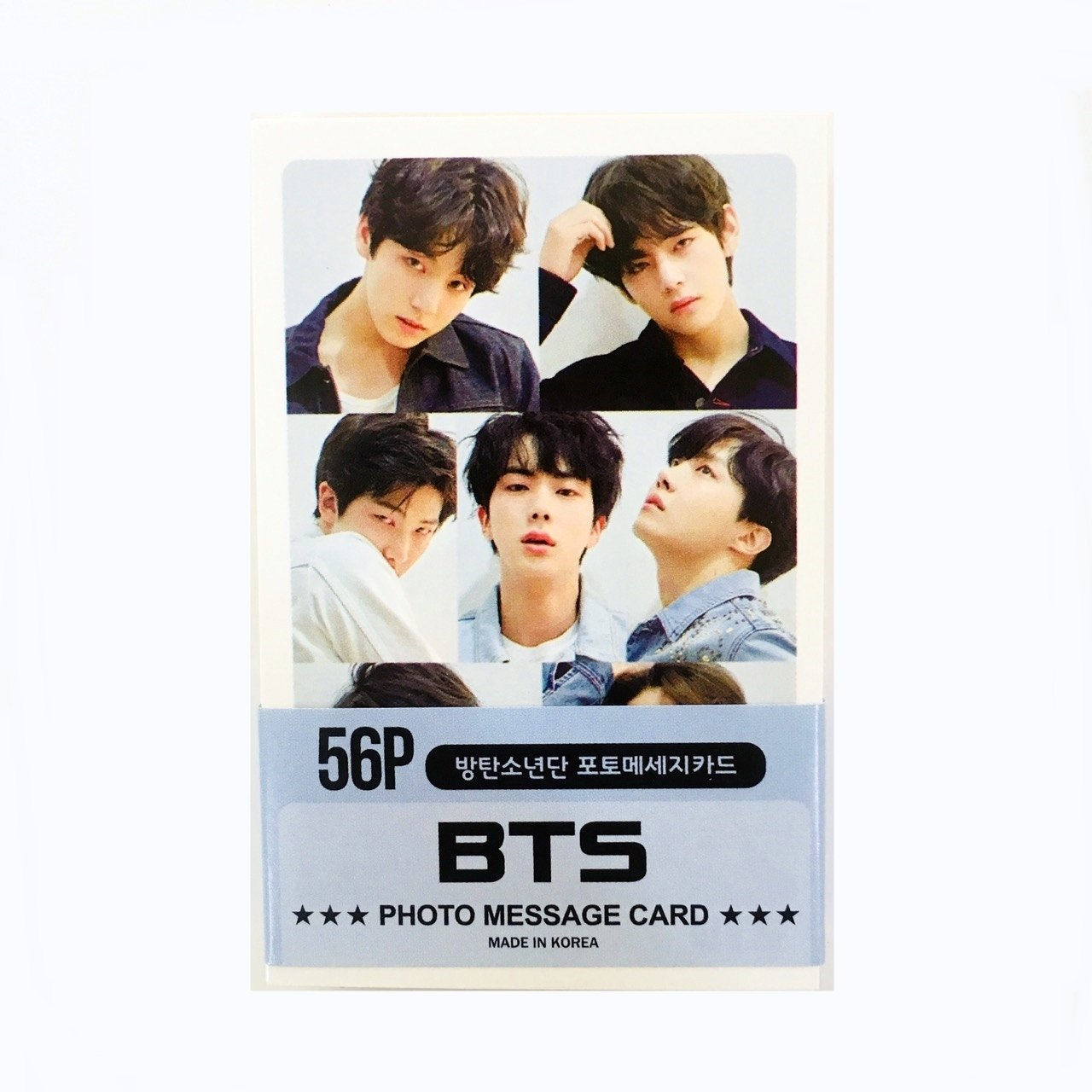 BTS Photocards New Version 56pcs