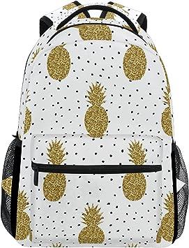 Polka-dot Pattern Polka Design Dot Unique Custom Outdoor Shoulders Bag Fabric Backpack Multipurpose Daypacks For Adult