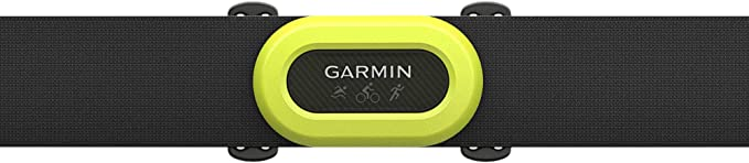 Real-Time Heart Rate Data and Running Dynamics Black Bundle with 5 Extra Batteries Premium Heart Rate Strap Garmin HRM-Pro 6 Items