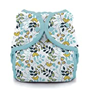 Thirsties Duo Wrap Cloth Diaper Cover, Snap Closure, Birdie Size One (6-18 lbs)