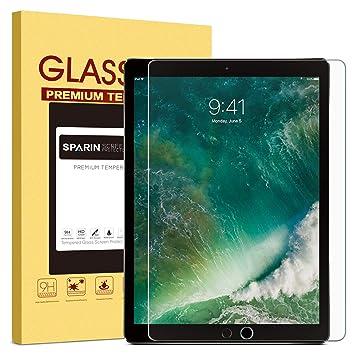MaxTeck - Protector de Pantalla para iPad Pro de 12,9 Pulgadas (Compatible con